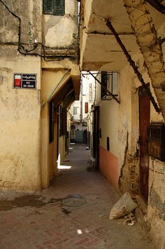 Kasbah Street through the eyes of superzoom End Of The World, Places Around The World, Around The Worlds, Tangier Morocco, Uk Destinations, Moroccan Theme, Islamic Architecture, Spain And Portugal, North Africa