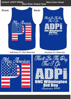 ADPi.american pi(e). two of my favorite things.