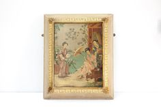 English Hand Painted Chinoiserie Hanging by TheParsonsPleasures