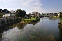 #ducey #villageetape #manche #normandie #selune #rivierenormande #pont