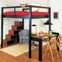 1000 ideas about queen loft beds on pinterest lofted