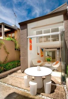 patio of a small Sydney house