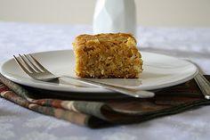 Versatile Vegetarian Kitchen: Vegan Pumpkin Snack Cake
