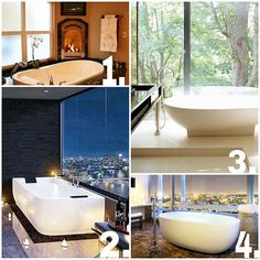 Which bath tub are you relaxing in after a long day?  _______________________ #luxurylifestyle #fancy #bathtub #realestate #realtorlife #realtorcandice256 #coldwellbanker #relaxing #localrealtors - posted by Candice Humphrey, MRP https://www.instagram.com/realtor_candice - See more Real Estate photos from Local Realtors at https://LocalRealtors.com