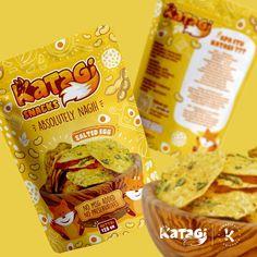Food Packaging, Packaging Design, Chips Brands, Snack Recipes, Snacks, Preserves, Mockup, Potato, Banner