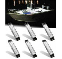 led boat // pontoon boat // fishing boat KIT BLUE 2x 8ft long LED lights