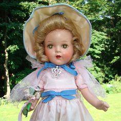 C1936 Arranbee Nancy Doll Composition 13 Inch Princess Elizabeth All Original #Arranbee