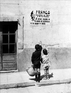 During Franco's Dictatorship in Spain.