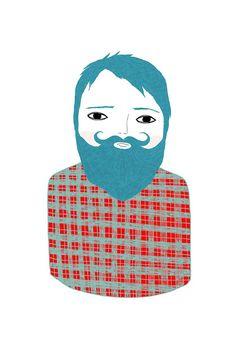 Ashley G: bearded men