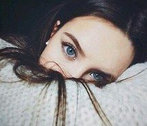 beautiful, beauty, blue eyes, brunette, cold, cool, girl, goals, hair, knitted, makeup, perfect, pretty, pullover, selfie, sweater, teen, woman