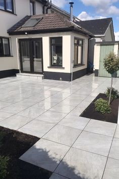 Rectangular outdoor tiles Ireland outdoor tiles 60x90 cm garden tiles 600x900mm 20mm Porcelain is super for outdoor spaces due to its incredible anti-slip rating and properties. Outdoor tiles due to the fact it is a manufactured product it has some impressive characteristics that marry perfectly with the needs of an Irish home (and garden) owner. Grey Paving, Paving Slabs, Outdoor Tiles, Outdoor Spaces, Outdoor Decor, Garden Tiles, Outdoor And Country, Ireland, Home And Garden