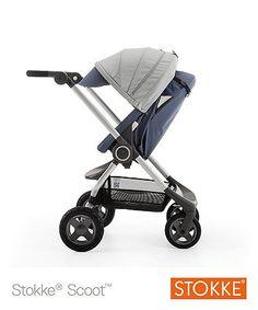 Stokke® Scoot V2 Pushchair - Slate Blue - prams & pushchairs - Mothercare