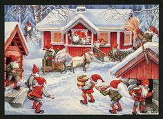 Julkort av Lars Carlsson