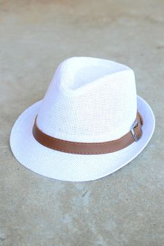 White Fedora from Page 6 Boutique