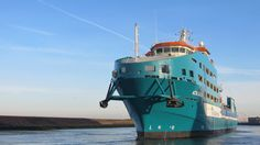 Terug van proefvaart 4 november 2015 rond 09.00 uur vanochtend  achteruitvarend de haven van Harlingen binnen gekomen http://koopvaardij.blogspot.nl/2015/11/terug-van-proefvaart.html