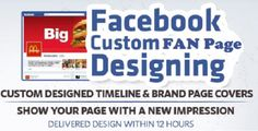 design a Handsome Facebook Fan page by articlewriter_