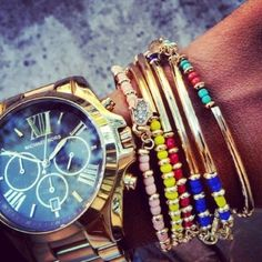 Gold & Colored Jewels