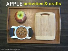 applefallcrafts e1348727255907 Our Apple Activities and Crafts {Free Printables}