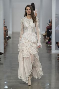 Zimmermann Spring 2017 Ready-to-wear collection Australia designer new york fashion week collection style runway Stranded Romance Dress, Lace Up Long Boot
