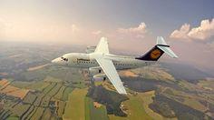 """British Aerospace  AVRO RJ100 """"Jumbolino"""" 1:144 Revell"""
