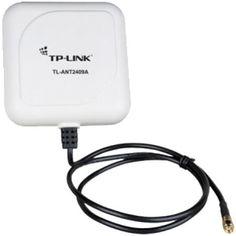 TP-LINK TL-ANT2409A White  — 1280 руб. —  Направленная антенна TL-ANT2409A работает на частоте 2.4ГГц с коэффициентом усиления 9дБи и позволяет существенно увеличить дальность беспроводного сигнала и повысить качество соединения. Антенна оснащена RP-SMA штекером, что обеспечивает совместимость с большинством беспроводных устройств.  Наслаждайтесь всеми преимуществами беспроводного соединения на всей территории вашего дома или офиса, а также на больших расстояниях. Данная антенна не требует…