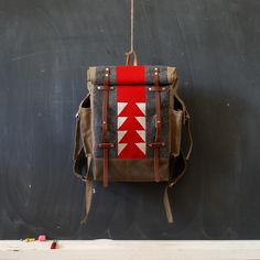 The Patchwork Backpack by sketchbook on Etsy