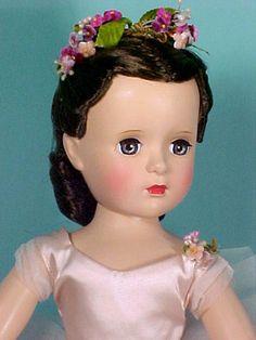 "18"" Dark Haired Margot Ballerina, Rare, 1952"