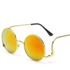 Find More Sunglasses Information about New sunglasses 1309 round frame metal box same wite the star fashion sun glasses women female ladies trendsetter high grade,High Quality Sunglasses from NBG AIH on Aliexpress.com