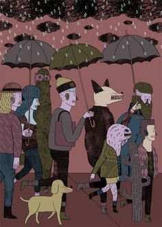 Oh no he drew rain!
