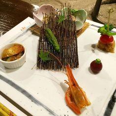 First course of our kaiseki dinner. #dinner #dinnertime #kaiseki #food #meal #foodandtravel #japanese #japanesefood #familytrip #tripwithfamily #trip #travel #indulge by attydesigns