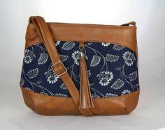 kabelka Rita modrotlač 5