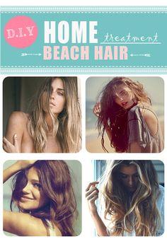 Beach Hair #DIY