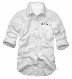 Delta Sigma Phi Fraternity Classic Oxford cotton/poly for easy care. Embroidered with your Fraternity letters in your choice of Thread Color. Theta Chi, Kappa Alpha Psi Fraternity, Sigma Alpha Epsilon, Tau Gamma, Delta Zeta, Fraternity Letters, Fraternity Shirts, Greek Life, Colorful Shirts