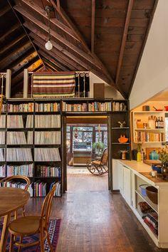 the Laurel Canyon home of Interior designer Kristen Korven and musician Derek James