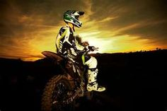 Missing my mx days. Pls be a motocross babe, Kylie lol