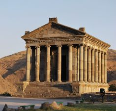 By Gnvard CC3 Temple of Garni - is a classical Hellenistic temple in Garda in #Armenia. This is perhaps the most famous building and symbol of pre-Christian Armenia. Built, probably by King Trdat in the first century as the temple of the Sun God Mihra.