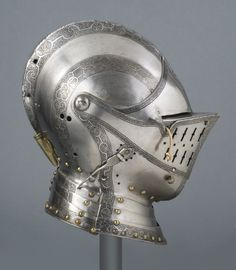 Philadelphia Museum of Art - Collections Object : Close Helmet, for Use on Horseback in the Field - German, c. 15600  - Kienbusch collection