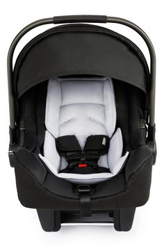 This ultra-light car seat from Nuna provides a sleek yet stylish safe haven for your baby.