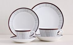 Gustavsberg/グスタフスベリ/SPISA RIBB/スピサ・リブ Coffee Cups, Plates, Vacation, Brown, Tableware, Gifts, Licence Plates, Coffee Mugs, Dishes