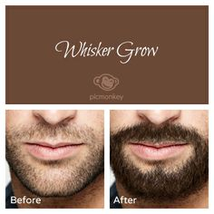 Grow a mustache or a beard in a snap with our Whisker Grow touch up effect