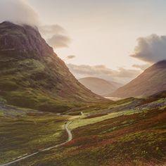 Highland Trail Glencoe Scotland [OC] [3731  3731] #reddit