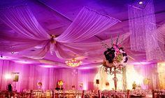 Ceiling draping - Arlene Floral & Event Design