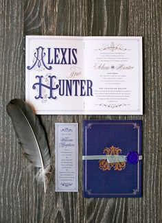 Storybook-Inspired Invitation Suite  Photography: Mel Barlow & Co. Read More: http://www.insideweddings.com/weddings/alexis-cozombolidis-and-hunter-pence/1047/
