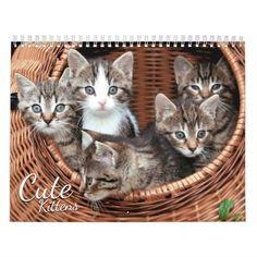 Cute Kittens 2018 Cat Pet Photo Calendar #cat #cats #kitten #catproducts