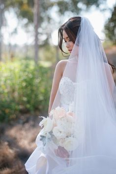 Wedding veil in a photo captured by @the joielala girls