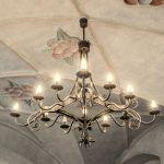 Forged chandelier Chandelier, Ceiling Lights, Lighting, Home Decor, Candelabra, Decoration Home, Room Decor, Chandeliers, Lights