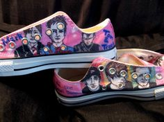 why would you NOT want custom-made blink 182 sneakers?!