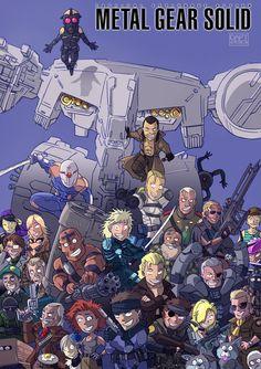 Metal Gear solid ! by ArtDaft