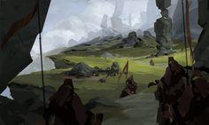 Ancient Ruins speedy, Alex Figini on ArtStation at http://www.artstation.com/artwork/ancient-ruins-speedy