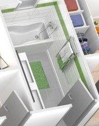 Plan de maison en L Oisans - plan maison gratuit Architecture, Alcove, Bathtub, Bathroom, Dom, Traditional House, Bath, Arquitetura, Standing Bath